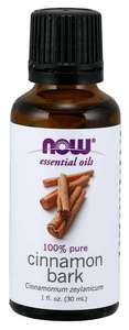 Cinnamon Bark Essential oil 1 oz NOW FOODS