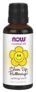 Cheer Up Buttercup Essential oil 1 oz NOW FOODS