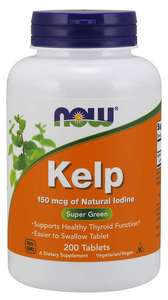 Kelp 200 tablets Now Foods