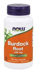 Burdock Root 100 veg caps Now Foods