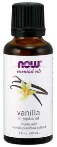 Vanilla Essential oil 1 oz NOW FOODS