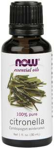 Citronella essential oil 1oz Now Foods