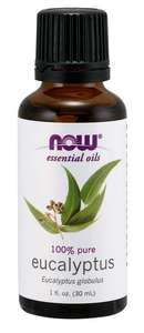 Eucalyptus essential oil 1oz Now Foods