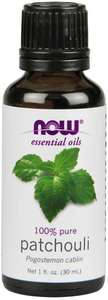 Patchouli essential oil 1oz Now Foods