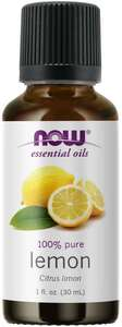 Lemon Essential Oil 1oz Now Foods
