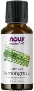 Lemongrass Essential Oil 1oz Now Foods