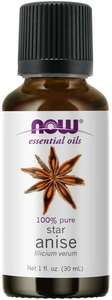 Anise essential oil 1 oz. Now Foods