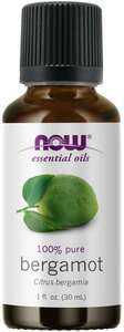 Bergamot essential oil 1 oz. Now Foods