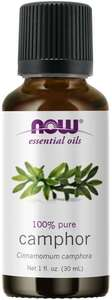Camphor essential oil 1 oz. Now Foods
