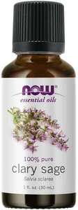 Clary Sage essential oil 1 oz. Now Foods