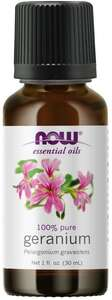Geranium essential oil 1 oz. Now Foods