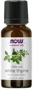 White Thyme essential oil 1 oz. Now Foods