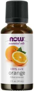 Orange essential oil 1 oz Now Foods