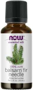 Balsam Fir Needle essential oil 1oz Now Foods