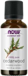 Cedarwood Essential Oil 1oz Now Foods