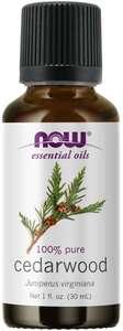 Cedarwood Essential Oil 1oz Now Foods