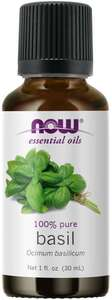 Basil Essential Oil 1oz Now foods