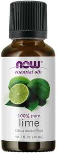 Lime Essential Oil 1oz. Now Foods