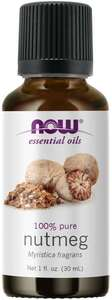 Nutmeg Essential Oil 1oz Now Foods