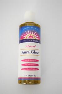 Aura Glow Almond Scent 8 oz