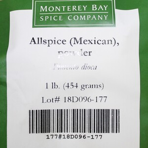 Allspice G 1lb