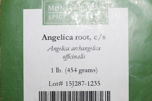 Angelica Root C/S 1lb