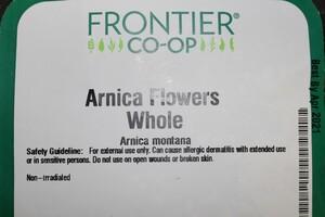 Arnica Flowers W 1lb