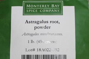 Astragalus Root G 1lb