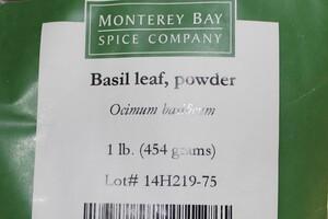 Basil Leaf G 1lb