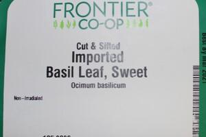 Basil Leaf C/S 1lb