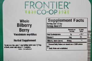 Bilberry Fruit W 1lb
