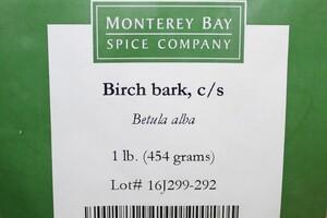 Birch Bark C/S 1lb