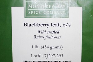 Blackberry Leaf C/S 1lb