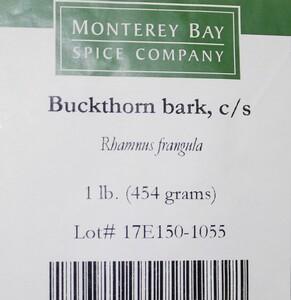Buckthorn Bark C/S 1lb