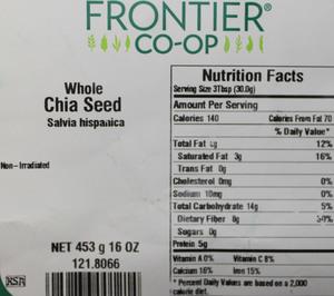 Chia Seed W 1lb