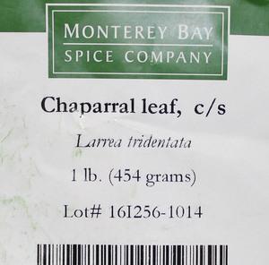 Chaparral Leaf C/S 1lb
