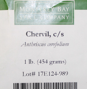 Chervil Leaf C/S 1lb