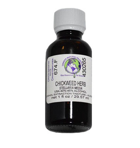 Chickweed Herb Tincture 1 oz