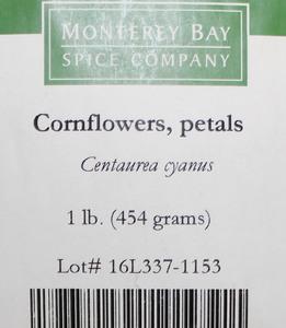 Cornflower Petals W 1lb