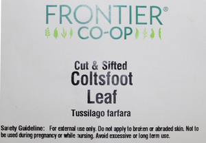 Coltsfoot Leaf C/S 1lb
