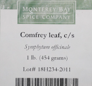 Comfrey Leaf C/S 1lb