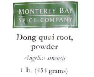 Dong Quai Root G 1lb