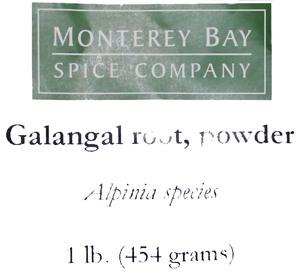 Galangal Root G 1lb