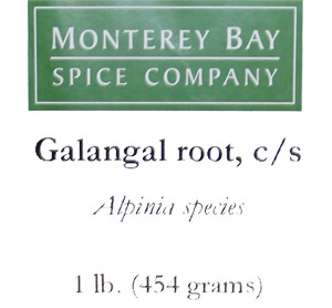 Galangal Root C/S 1lb