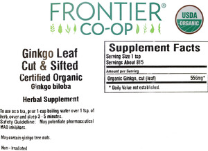 Ginkgo Leaf C/S 1lb
