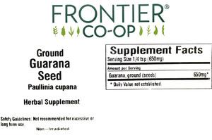 Guarana Seed G 1lb