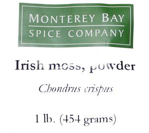 Irish Moss G 1lb