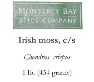 Irish Moss Flakes 1lb