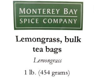 Lemon Grass Teabags 1lb
