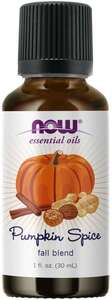 Pumpkin Spice Essential Oil 1 oz Now foods